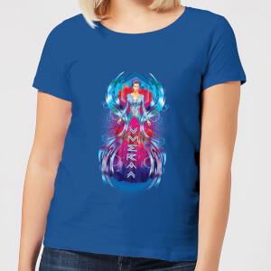 Aquaman Mera Hourglass Women's T-Shirt - Royal Blue