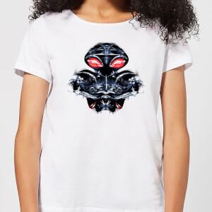 Aquaman Black Manta Sea At War Women's T-Shirt - White