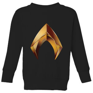 Aquaman Symbol Kids' Sweatshirt - Black
