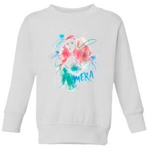 Aquaman Mera Kids' Sweatshirt - White