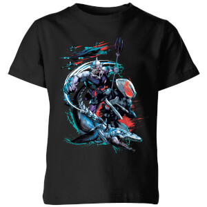 Aquaman Black Manta & Ocean Master Kids' T-Shirt - Black
