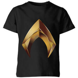 Aquaman Symbol Kids' T-Shirt - Black