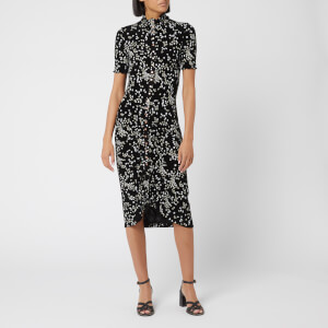 See By Chloé Women's Floral Dress - Mult Black