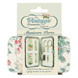 The Vintage Cosmetic Company Floral Manicure Purse(더 빈티지 코스메틱 컴퍼니 플로럴 매니큐어 펄스)