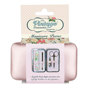 Trousse de Manucure The Vintage Cosmetic Company – Rose Doré