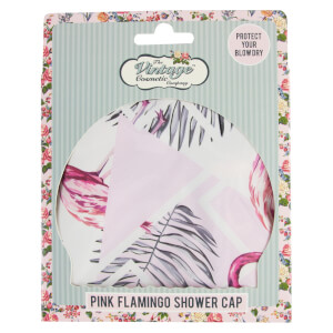 The Vintage Cosmetic Company Shower Cap czepek pod prysznic – Flamingo
