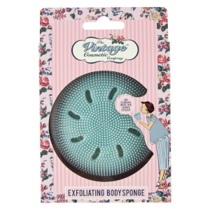 The Vintage Cosmetic Company Exfoliating Body Sponge - Blue