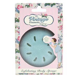 The Vintage Cosmetic Company Exfoliating Body Sponge - Blue