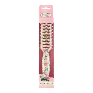 Расческа The Vintage Cosmetic Company Floral Vent Hair Brush