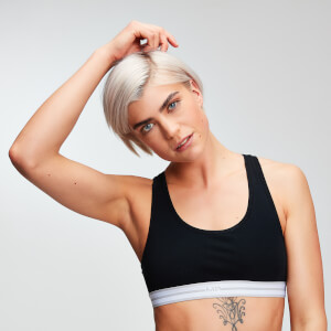 Logo Crop Top (2-pack) - Svart