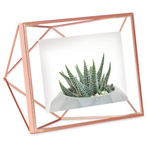 Umbra Prisma Photo Frame - Copper - 4 x 6 Inches (10 x 15cm) (Free Gift)