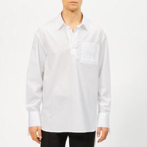 Wooyoungmi Men's Open Neck Shirt - White