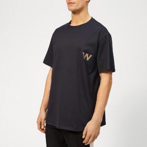 Wooyoungmi Men's W Basic T-Shirt - Navy