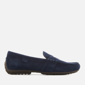Polo Ralph Lauren Men's Reynold Suede Slip-On Drivers - Navy
