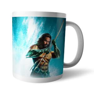 Aquaman Character & Logo Mug
