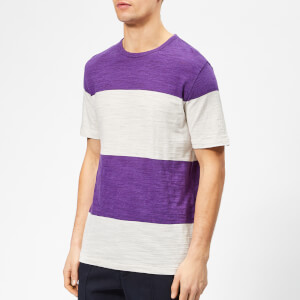 YMC Men's Baja T-Shirt - Cream/Purple