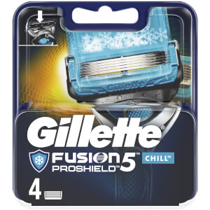 Gillette Fusion5 ProShield Chill Razor Blades (4 Pack)