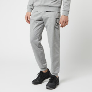 Emporio Armani EA7 Men's Train Logo Series Slim Joggers - Dark Grey Melange