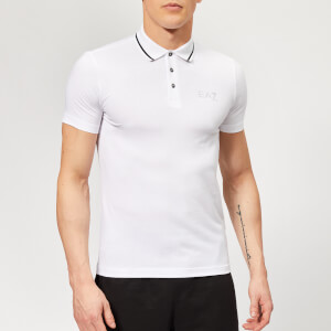 Emporio Armani EA7 Men's Train Core ID Polo Shirt - White