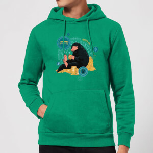 Fantastic Beasts Niffler Hoodie - Kelly Green