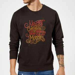 Fantastic Beasts No-Maj Sweatshirt - Black