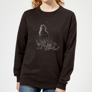 Fantastic Beasts Tribal Augurey Women's Sweatshirt - Black