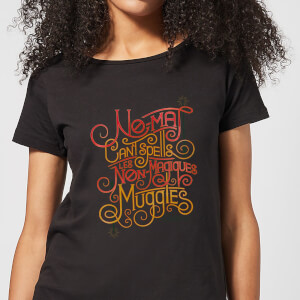 Fantastic Beasts No-Maj Women's T-Shirt - Black