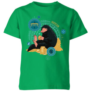 Fantastic Beasts Niffler Kids' T-Shirt - Kelly Green