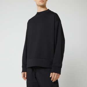 Y-3 Men's Signature Graphic Crew Neck Sweatshirt - Black