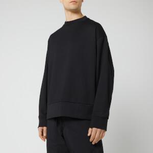 Y-3 Men's Signature Graphic Crew Neck Sweatshirt - Black