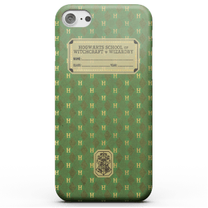 Fantastic Beasts Slytherin Text Book Phone Case for iPhone and Android