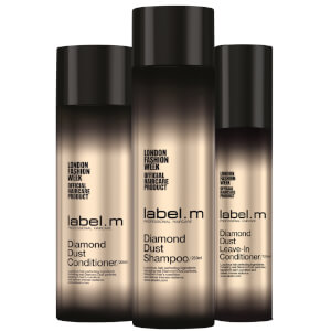 label.m Diamond Dust Trio Gift Set (Worth £63.70)