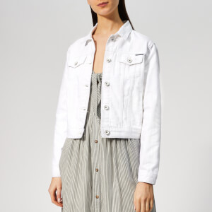Superdry Women's Denim Girlfriend Jacket - Pure White