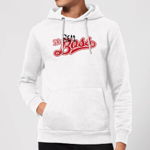 The Real Boss Hoodie - White