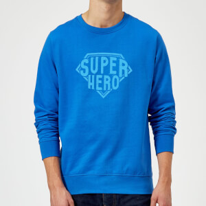 Super Hero Sweatshirt - Royal Blue