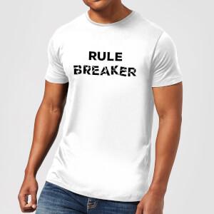 Rule Breaker Men's T-Shirt - White