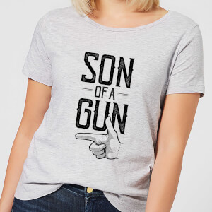 Son Of A Gun Women's T-Shirt - Grey