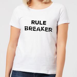 Rule Breaker Women's T-Shirt - White
