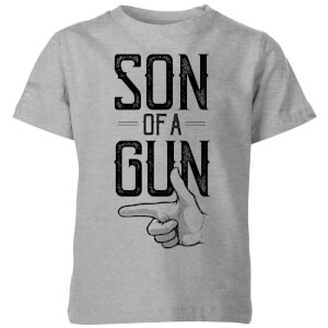 Son Of A Gun Kids' T-Shirt - Grey