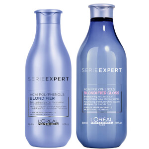 L'Oréal Professionnel Serie Expert Blondifier Gloss Shampoo and Conditioner Duo szampon i odżywka do włosów blond