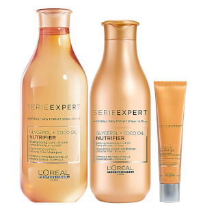L'Oréal Professionnel Serie Expert Nutrifier Shampoo, Conditioner and Balm Trio