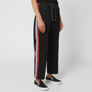 McQ Alexander McQueen Women's Racer Sweatpants - Darkest Black