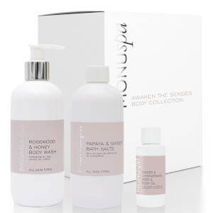MONU Spa Awaken the Senses Ladies Body Collection and Bag (Free Gift) (Worth £47.00)