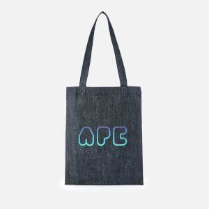 A.P.C. Men's Claude Denim Tote Bag - Blue