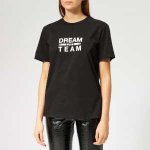 MSGM Women's Dream Team T-Shirt - Black