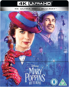Mary Poppins Returns 4K Ultra HD (Includes 2D Blu-ray) - Zavvi UK Exclusive Limited Edition SteelBook