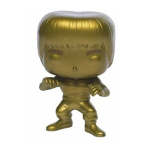 Bruce Lee Enter the Dragon Gold EXC Pop! Vinyl Figure