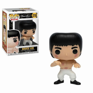 Bruce Lee Enter the Dragon (White Pants) EXC Pop! Vinyl Figure