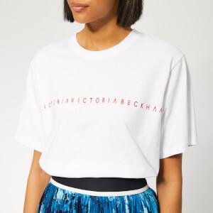 Victoria, Victoria Beckham Women's Logo T-Shirt - White