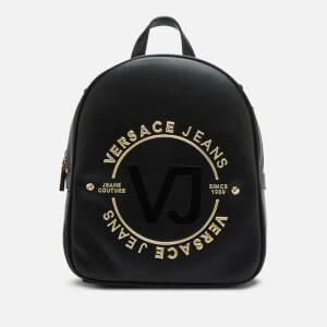 Versace Jeans Women's Logo Backpack - Black